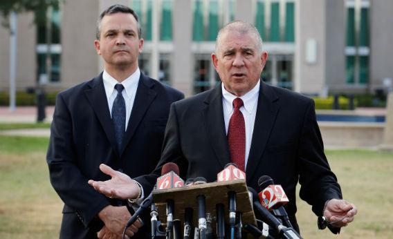 Craig Sonner and Hal Uhrig, George Zimmerman's legal team.