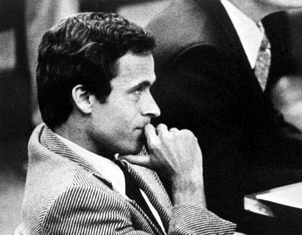 Ted Bundy in court.