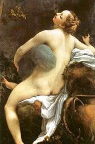 Painting of Io and Zeus by Correggio.