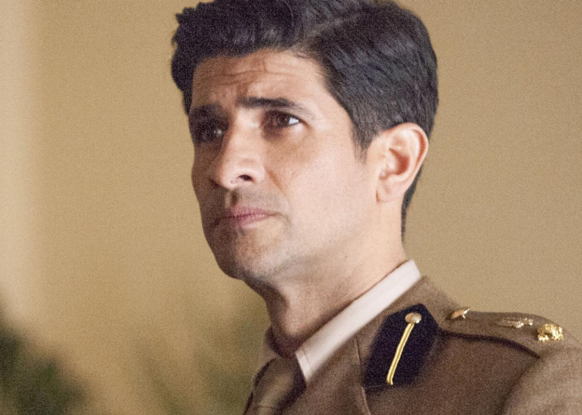 Raza Jaffrey as Aasar Khan in Homeland.