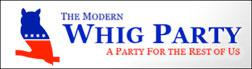 The Modern Whig party logo.