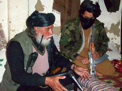 Taliban spokesman Muslim Khan. Click image to expand.