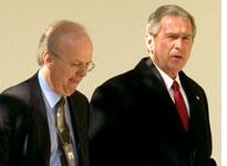 Karl Rove and George W. Bush. Click image to expand.