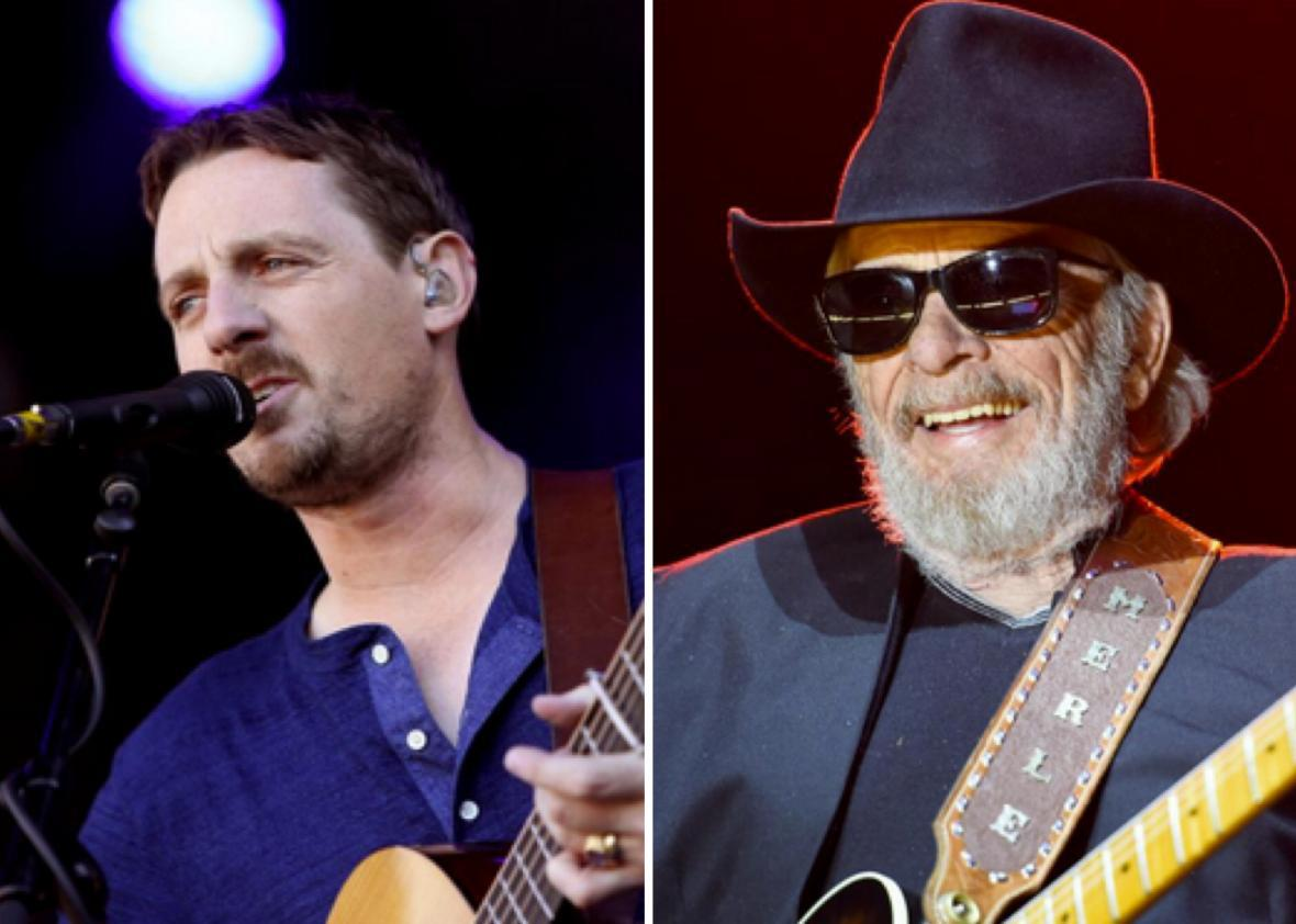 Sturgill Simpson and Merle Haggard
