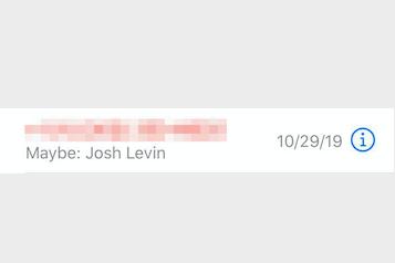 Josh Levin's call log