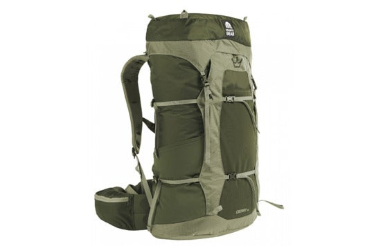 Green Granite Gear Crown backpack.