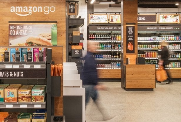 Amazon's new checkout-free store.