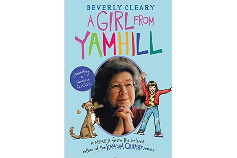 The cover of A Girl From Yamhill.