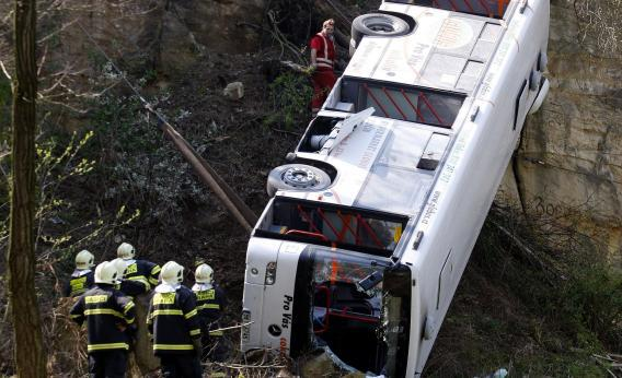bus off cliff