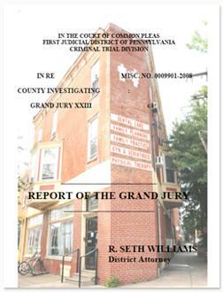 Report of the Grand Jury of Philadelphia.
