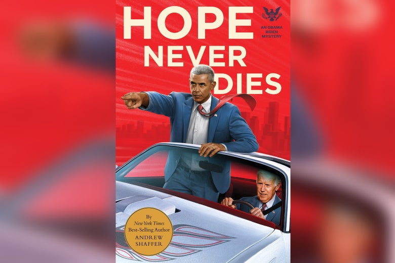 The cover of Hope Never Dies.