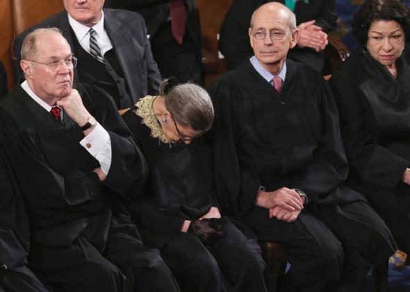 SCOTUS attends State of the Union