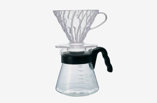 Hario V60 pour-over kit.