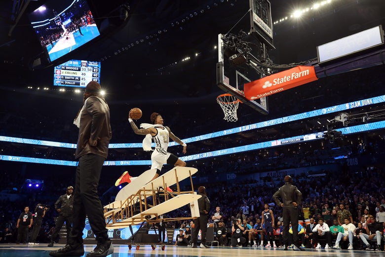 John Collins' Dunk Contest Failure Was Historically Accurate