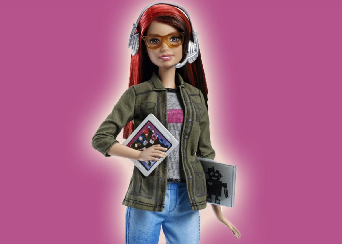 game developer barbie.