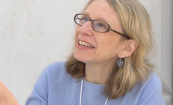 Roz Chast at the 2007 Texas Book Festival, Austin, Texas, United States.