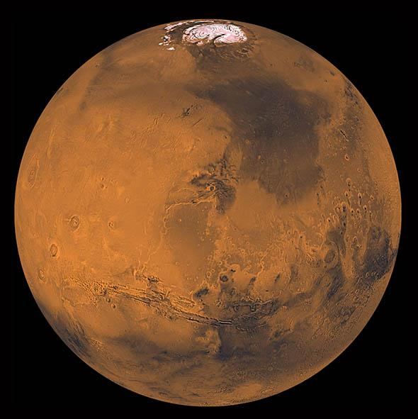 Viking image of Mars.
