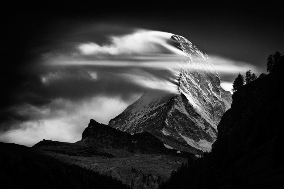 Matterhorn, Sunset Clouds, 2011