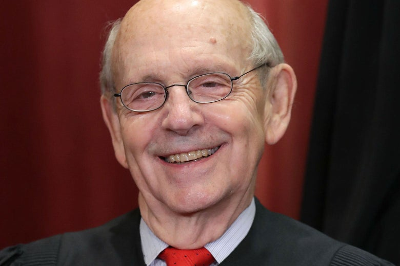 Supreme Court Justice Stephen Breyer in Washington on Nov. 30.