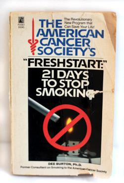"The American Cancer Society's ""Freshstart:"" 21 Days to Stop Smoking."