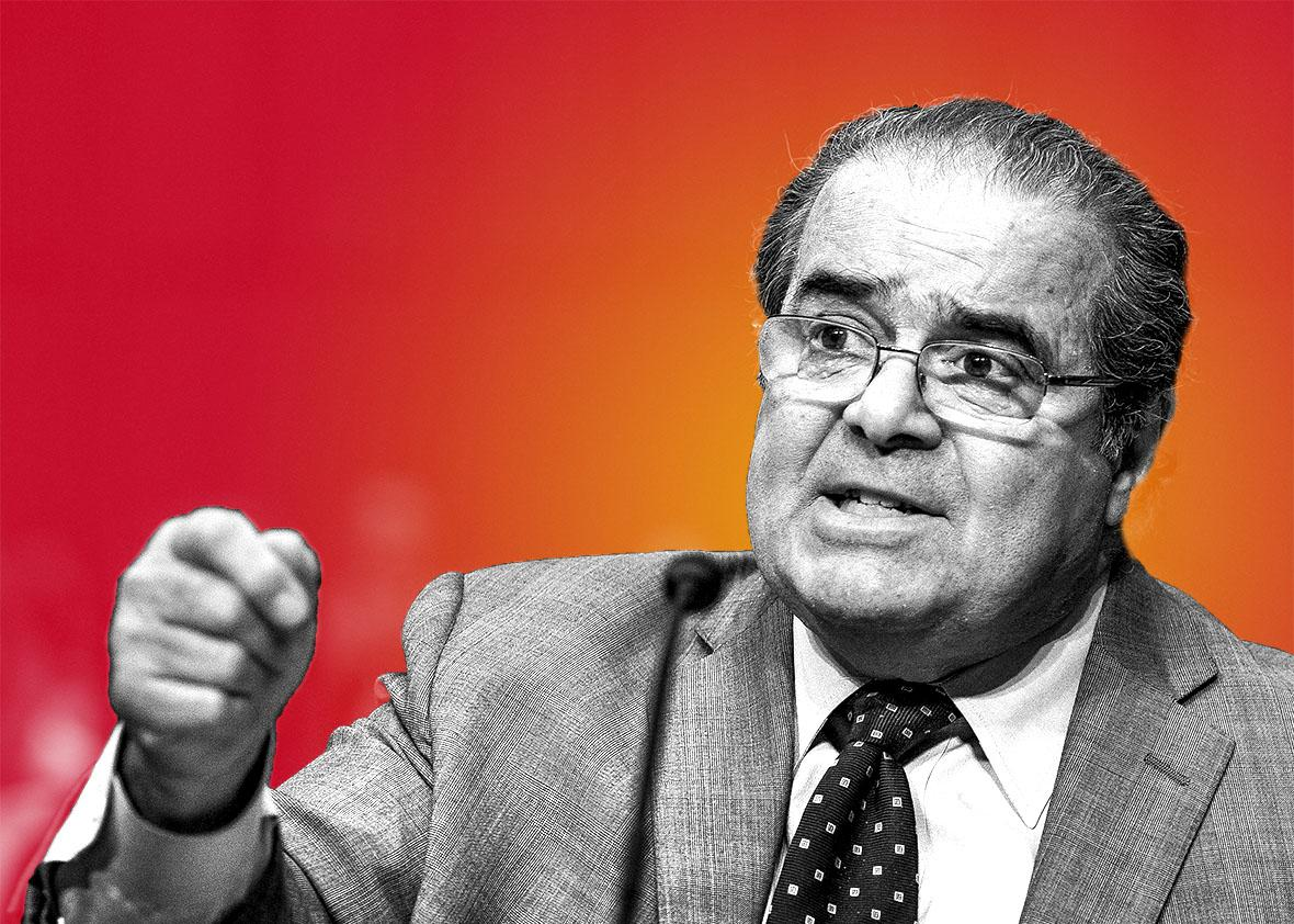 Supreme Court Justice Antonin Scalia.