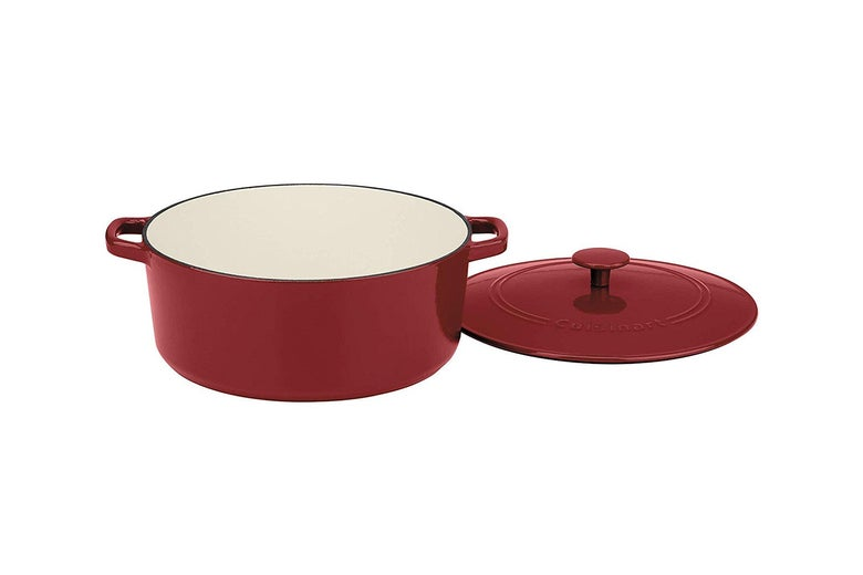 Cuisinart CI670-30 Enameled Cast Iron 7-Quart Round Covered Casserole