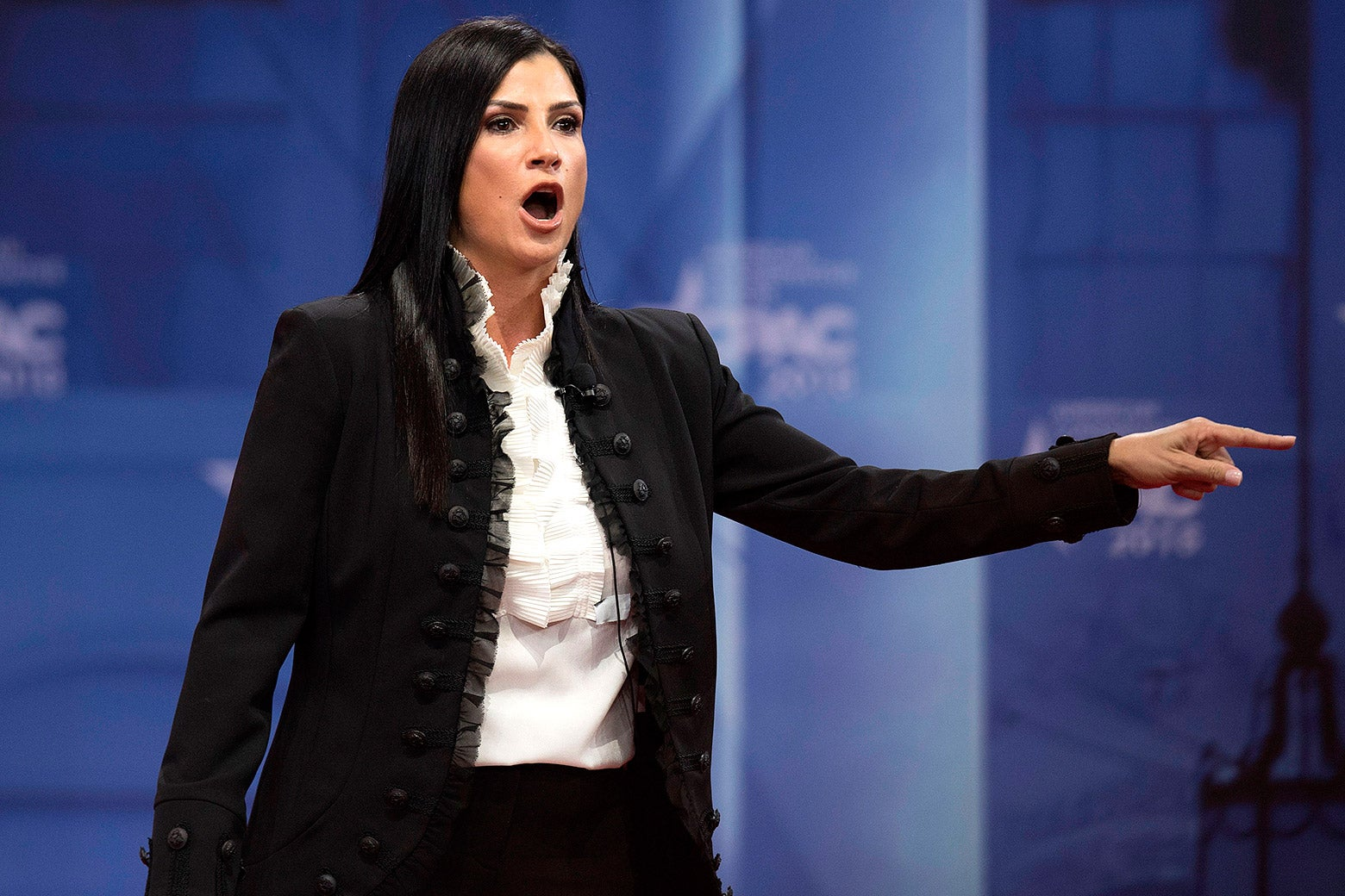 Dana Loesch speaks during the 2018 Conservative Political Action Conference at National Harbor in Oxon Hill, Maryland on Feb. 22.