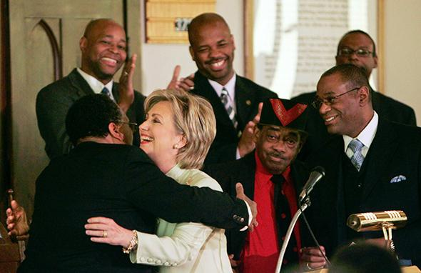 Hillary Clinton in Selma, Alabama