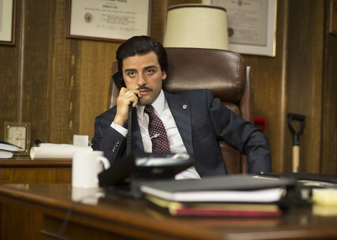 Oscar Isaac in Show Me A Hero.