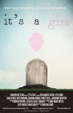 "Poster for ""It's A Girl"""