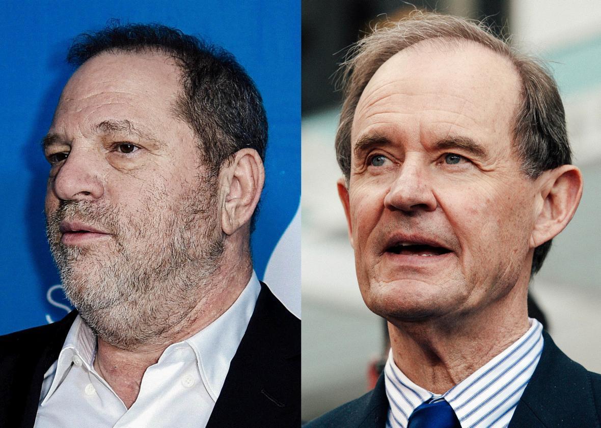 Harvey Weinstein, David Boies
