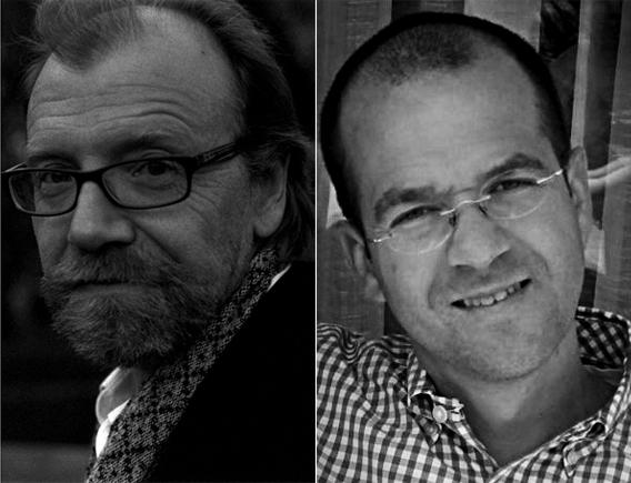 George Saunders and  Andy Ward