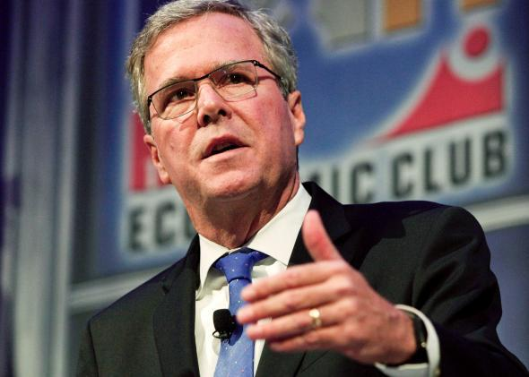 Jeb Bush at the Detroit Economic Club