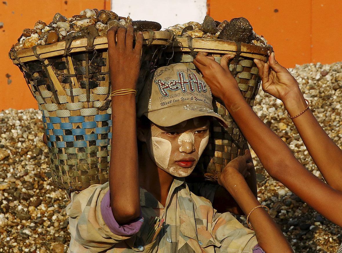 MYANMAR-DAILYLIFE/