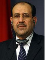 Iraqi Prime Minister Nouri al-Maliki. Click image to expand.