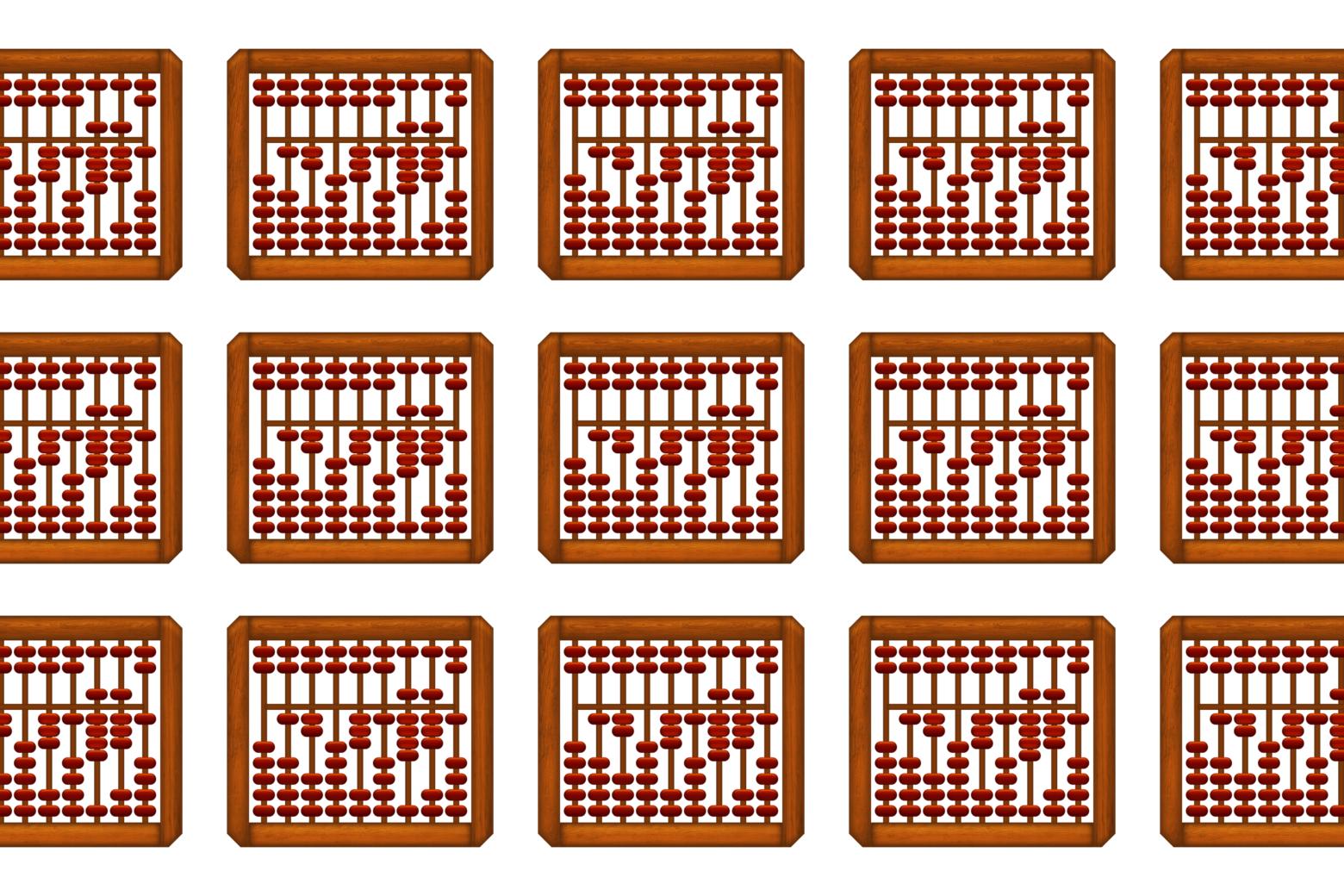 Abacus emojis.