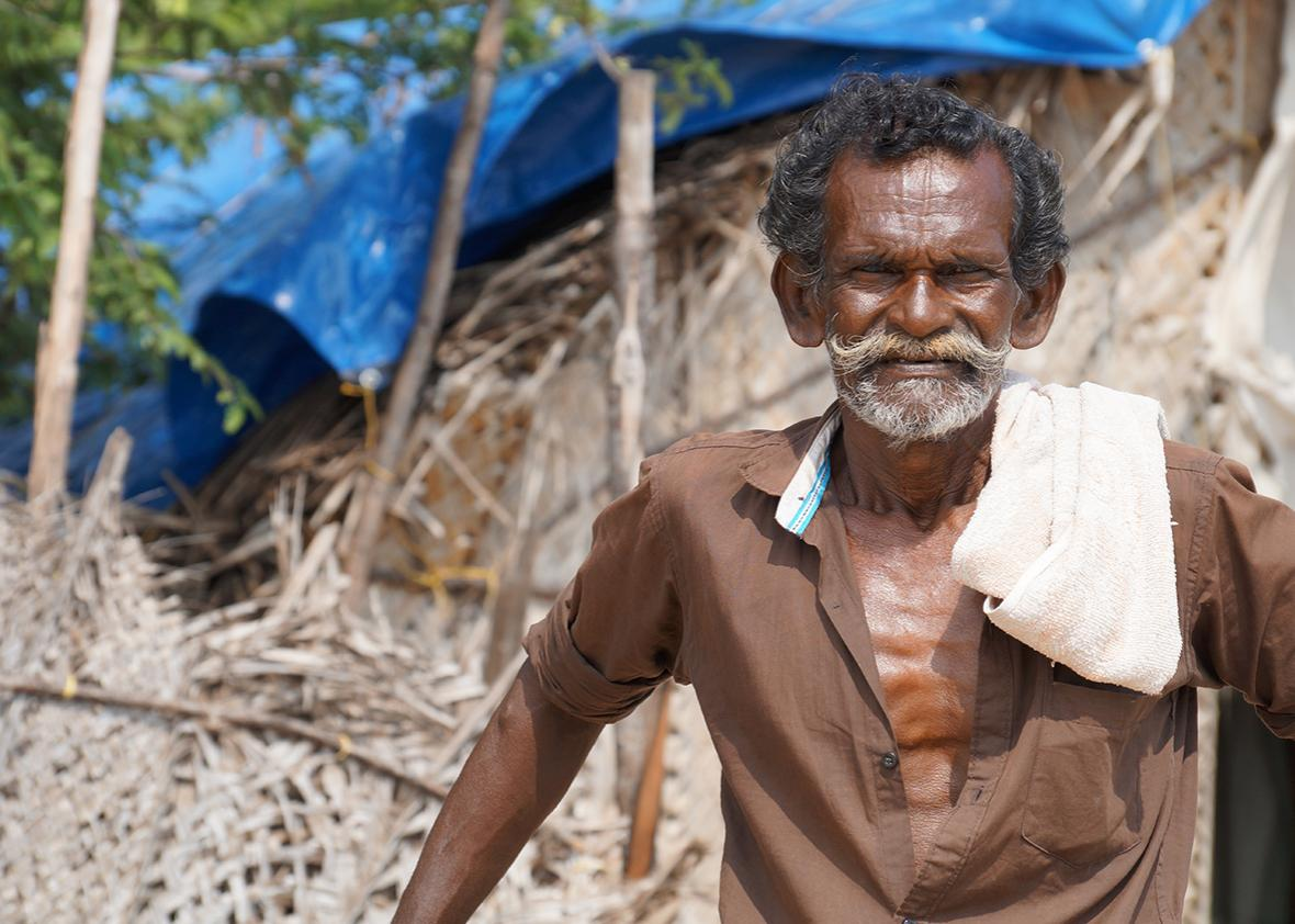 Anthony was born across the Strait in Sri Lanka but has lived in Rameswaram since 1974. Several days a week, he'll leave the harbor at 1pm in his country boat, go nine miles out to sea, stopping just short of the international boundary, and return the following morning.