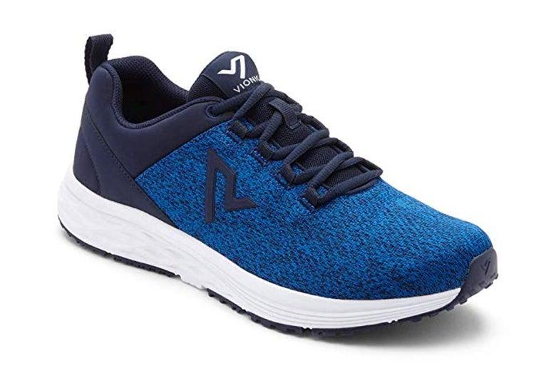 A sneaker.