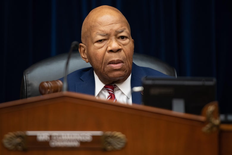 Rep. Elijah Cummings, Democrat of Maryland and Chairman of the House Oversight and Reform Committee, arrives for a committee hearing on Capitol Hill in Washington, D.C. on July 18, 2019.