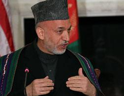 Hamid Karzai. Click image to expand.