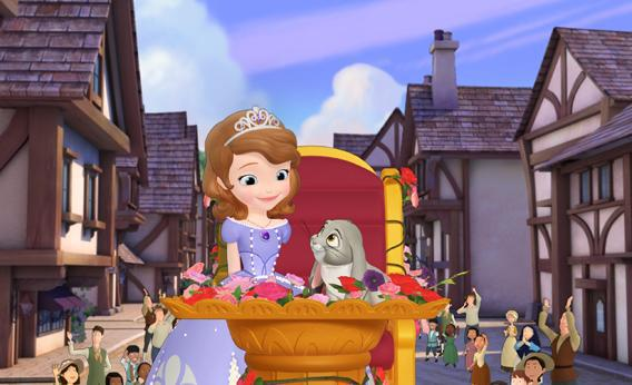Sofia the First, guest starring the voice of Wayne Brady as Clover the Bunny.