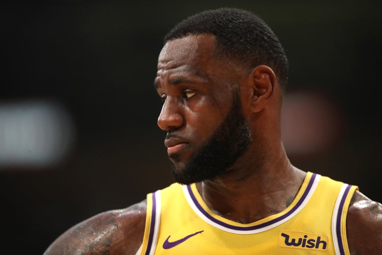 LeBron Gets Stuffed by Mario Hezonja, Reaches Low Point