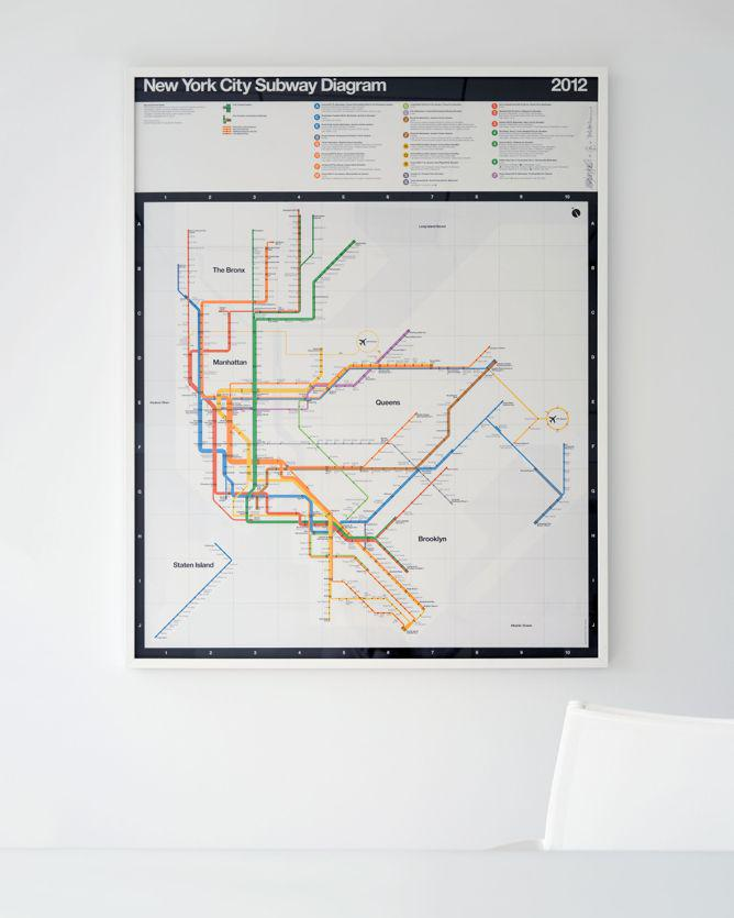 Vignelli Subway Map Pdf.Nyc Subway Posters From Massimo Vignelli And Superwarmred Designs