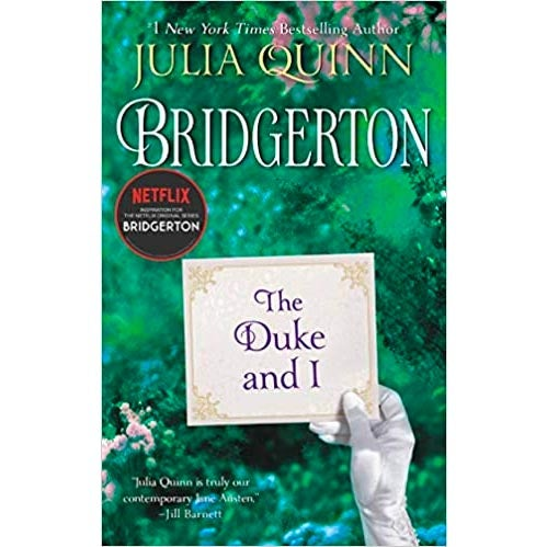 The cover of The Duke and I.