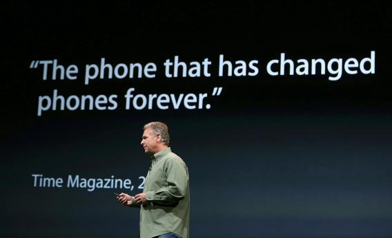 Phil Schiller on the iPhone 5, the thinnest, lightest, fastest, bestest iPhone ever