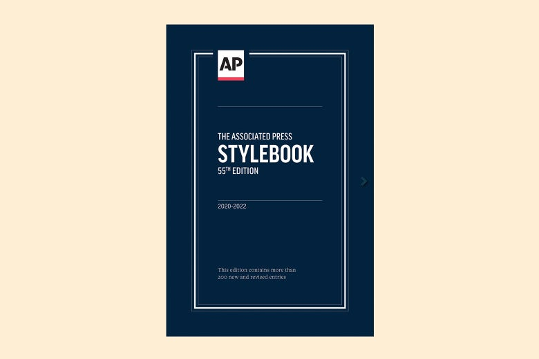 The cover of the Associated Press' new Stylebook