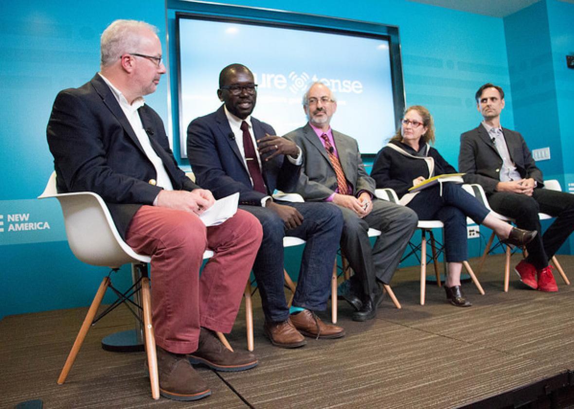 Mark Schmitt, Jamelle Bouie, Jeremy Epstein, Dahlia Lithwick, and Matt Adams discussion designing a better election.