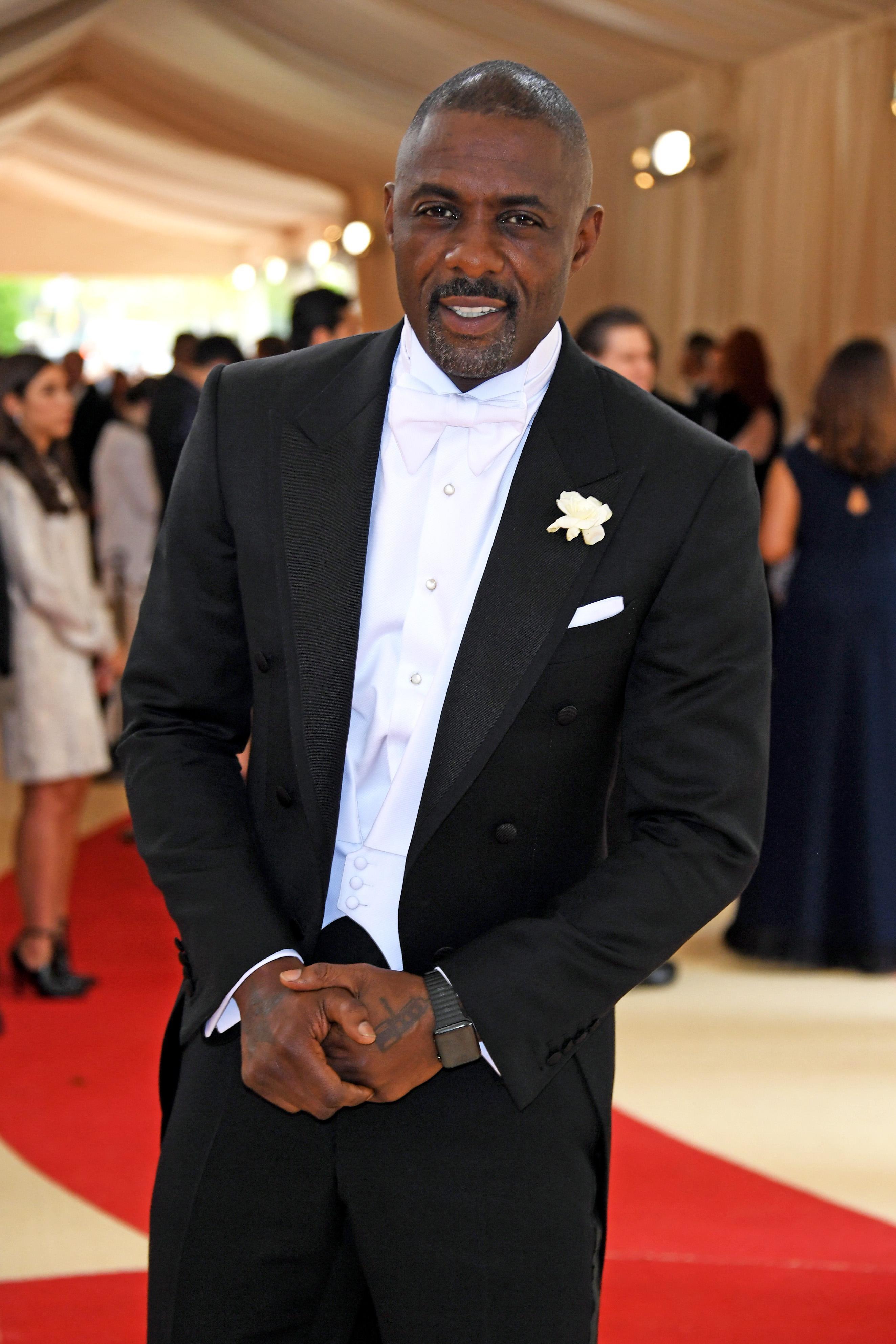 Idris Elba in a tuxedo.