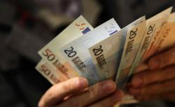 A handful of euros.