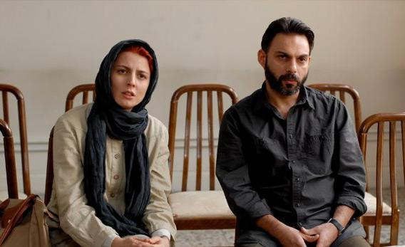 Still of Leila Hatami and Peyman Moadi in 'A Separation.'